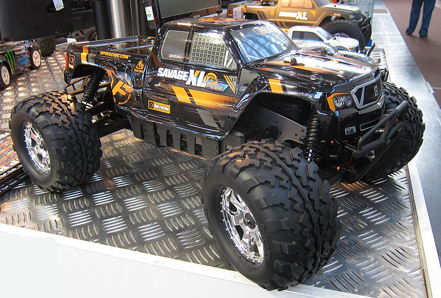 Monster Truck Page - electric and nitro radio control